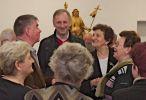 Wernisaż wystawy rzeźby sakralnej